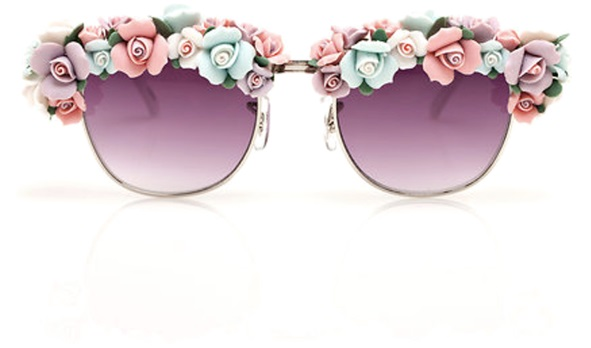 Rosey Glasses