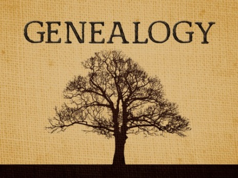 Genealogy Book Cover Tree